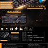 NEOLUTION E-Sport Galaxtic Blue switch mechanical keyboard