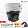 Hikvision DS-2DE2204IW-DE3 Network IR Mini PTZ Dome Camera Optical Zoom 4X Free Adepter 12V & SD Card 64GB