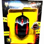 NUBWO Optical Mouse NM-20 EXTREME (Red/Black)