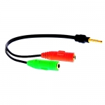 Cable Y Small Talk and Mic 3.5 mm