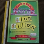 spell & Build words