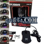 USB MOUSE OMRON SWITCH GEARMASTER GMM-098 ฺBLACK