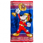 Mickey Mouse Beach Towel - Mickey and the Roadster Racers from Disney USA ของแท้100% นำเข้า จากอเมริกา