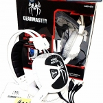 HEADPHONE GEARMASTER GMH-600 SONIC BUSTER/WHITE