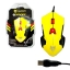 USB Gaming Nubwo LEDOLF (NM-60) Yellow thumbnail 1