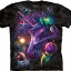 Pre.เสื้อยืดพิมพ์ลาย3D The Mountain T-shirt : Unicorn Cosmos T-Shirt thumbnail 1