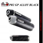 ท่อPR2 GP ALLOY BLACK