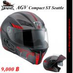 หมวกกันน็ค AGV Compact ST Seattle Black/Red