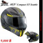 หมวกกันน็ค AGV Compact ST Seattle Black/Yellow