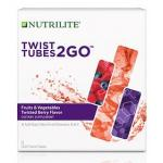 Nutrilite Twist Tubes 2GO Fruits Vegetables (Twist Berry สีม่วง)