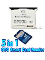 Micro USB OTG Card Reader Hub Adapter