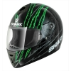 หมวกกันน็อค SHARK Pulse Division - S600 PINLOCK TERROR Black Green Green
