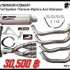 ท่อ Honda CBR650/CB650F Devil Full System Titanium Replica And Stainless #11