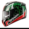 หมวกกันน็อค SHARK SPEED-R 2 SYKES Black Red Green