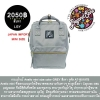Anello bag size mini color Grey กระเป๋าเป้ anello สีเทา ไซค์มินิ