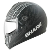 หมวกกันน็อค SHARK Pulse Division - S600 TERROR Mat Black anthrac white