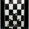 Case oppo Find Mirror R819 CHANAL สก๊อตดำ