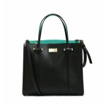 สินค้าพร้อมส่ง » กระเป๋า KATE SPADE WKRU3036 ARBOUR HILL BLACK LEATHER SMALL ELODIE SATCHEL BAG