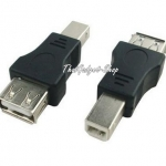 (พร้อมส่ง) USB Type A Female to USB Type B Male Adapter