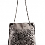 TH กระเป๋า DKNY Active Metallic Quilted Logo Shopper สีแบบภาพแรก CH
