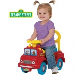 รถขาไถ 2 Sesame Street Fire Engine Activity Ride-On
