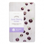 Etude House Take Care Of My Skin Mask #Acai Berry - Antioxidant