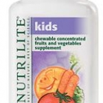 Nutrilite Kids Chewable Concentrated Fruits and Vegetables ผักและผลไม้เข้มข้น สำหรับเด็ก เหมาะสำหรับเด็กที่ไม่รับประทานผักและผลไม้ Amway USA