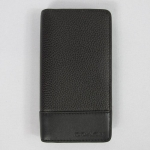 USA : กระเป๋าใส่ Smart Phone COACH F63233 BNZ MEN'S PEBBLED LEATHER UNIVERSAL PHONE CASE WALLET