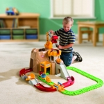 ชุดรถของเล่น Little Tikes Little Tikes Big Adventures Construction Peak Rail And Road