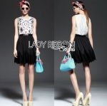 Lady Maria Little Princess Embellished Lace and Satin D&G Dress