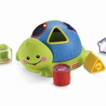 บล๊อคหยอด Fisher-Price Friendly Firsts Turtle Shape Sorter