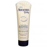 Aveeno Baby Soothing Relief Fragrance Free With Natural Colloidal, Oatmeal Moisture Cream, 8 oz