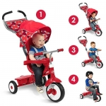 Radio Flyer Deluxe 4-in-1 Tike