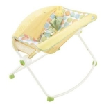 เปลโยก Fisher Price Newborn Rock 'n Play Sleeper (Yellow)