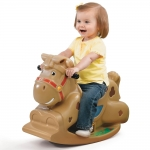 ม้าโยก Step 2 Patches the Rocking Horse
