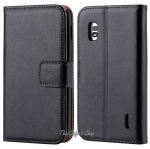 (พร้อมส่ง) เคส LG Nexus 4 (Luxury Wallet With Card Slot Stand)