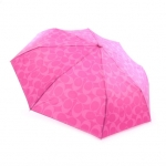 "ร่มกันฝน Coach F62958 SV/FX 42"" Signature Single Canopy Rain Umbrella Pink"