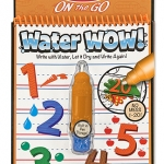 Melissa and Doug Water Wow Reusable - Number