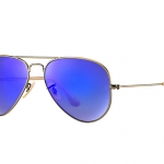 แว่นตา Ray-Ban RB3025 167/68 58-14 AVIATOR FLASH LENSES BLUE MIRROR