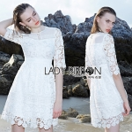 Lady Everlyn Lace Classic Dress