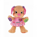 Fisher Price Laugh and Learn pink puppy