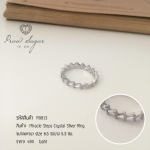 Miracle Steps Crystal Silver Ring