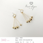 Golden Circle Sway Earrings