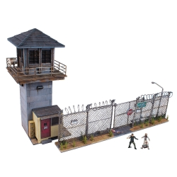 The Walking Dead - McFarlane Toys' - Prison Tower and Gate Construction Set (ของแท้)