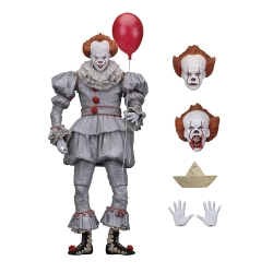 "IT – 7"" Scale Action Figure – Ultimate Pennywise (2017) ลิขสิทธิ์แท้"