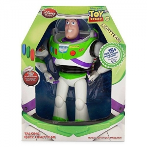 Disney Advanced Talking Buzz Lightyear Action Figure (ของแท้)