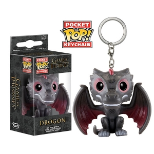 Funko POP Keychain - DROGON - Game of Thrones (ของแท้)