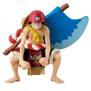 Figure Colosseum : Monkey D. Luffy : One Piece Film Gold (ของแท้)