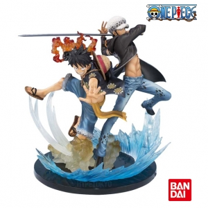 Figuarts ZERO Monkey D. Luffy & Trafalgar Law -5th Anniversary Edition (ของแท้ลิขสิทธิ์)