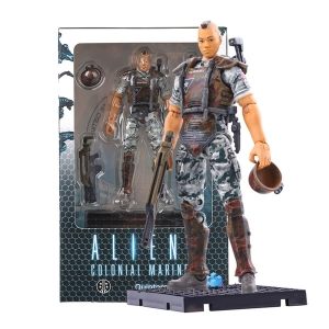 Aliens: Colonial Marines 1:18 Scale Quintero Action Figure (ของแท้)